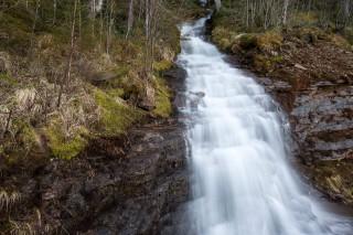Wasserfall in drei Blickwinkeln –I