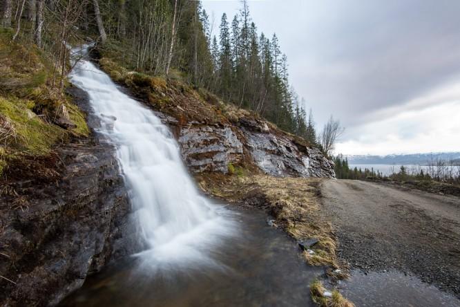 Wasserfall in drei Blickwinkeln –II