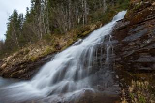 Wasserfall in drei Blickwinkeln –III