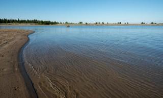 Bjuröklubb gestern: Sandstrand bei Grundskatan