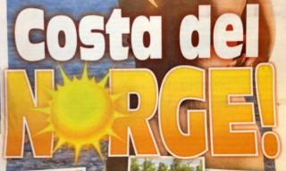 """Zeitung: """"Costa del Norge!"""""""