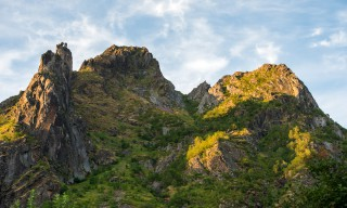 Kletterberge bei Svolvær