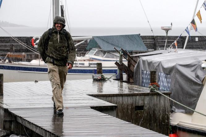 Bjuröklubb Hafen: Prasselregen