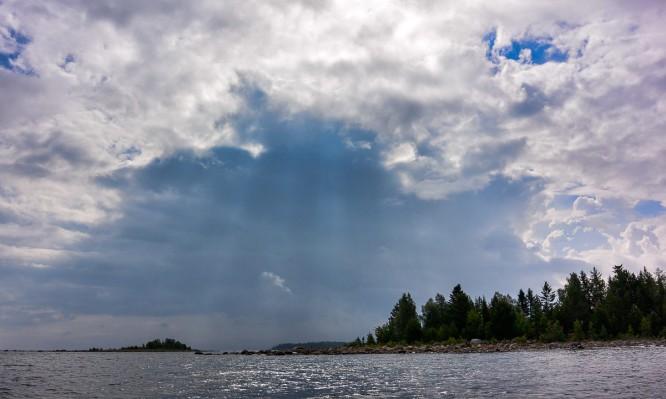 Wolkenaufzug