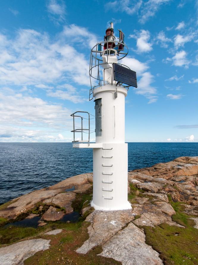 Der Leuchtturm auf Kågnäshällan