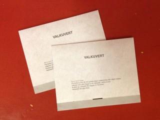 Valkuvert –Wahlumschlag