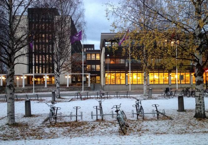 Skellefteå Kraft und Bibliothek